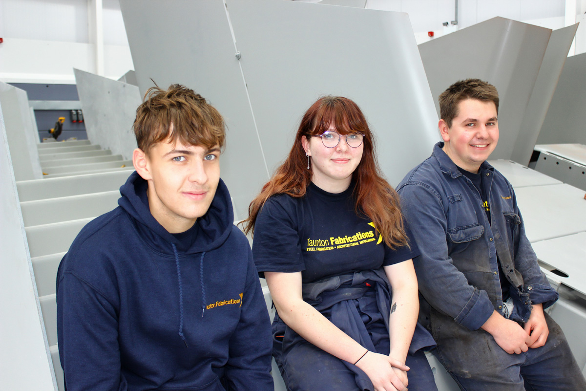 Taunton Fab apprentices making their mark