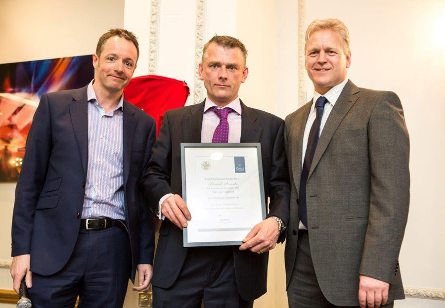 Taunton Fabrications awarded Sub Contractor of the Year by Crest Nicholson South West