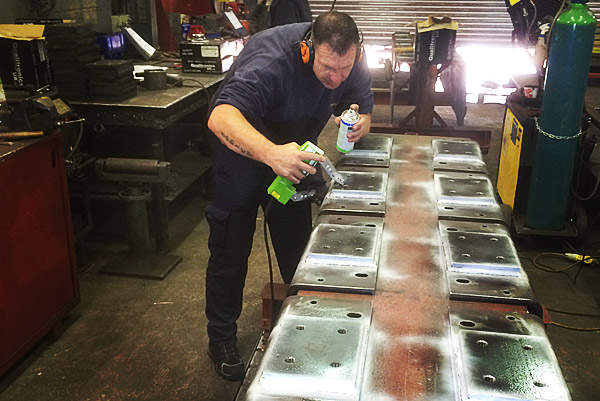 Weld inspections now carried out in-house